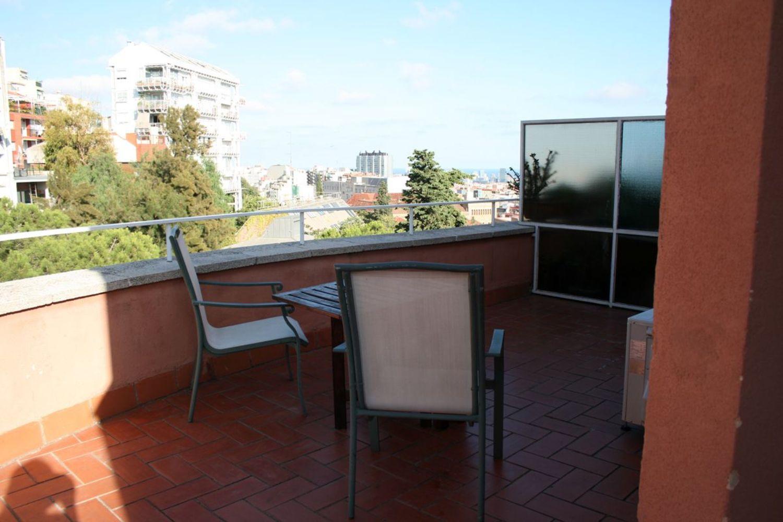 Ático en alquiler en calle Del Coll del Portell, La Salut en Barcelona - 358106013