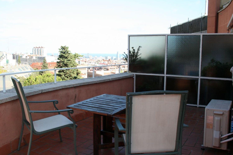 Ático en alquiler en calle Del Coll del Portell, La Salut en Barcelona - 358106049