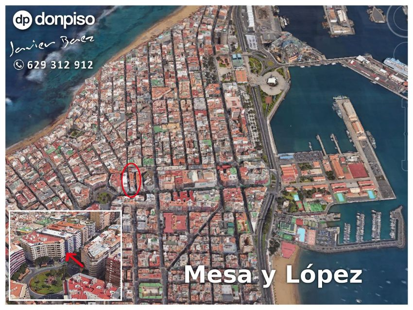 Piso en avenida José Mesa y López, s n, Santa Catalina - Canteras, Las Palmas de