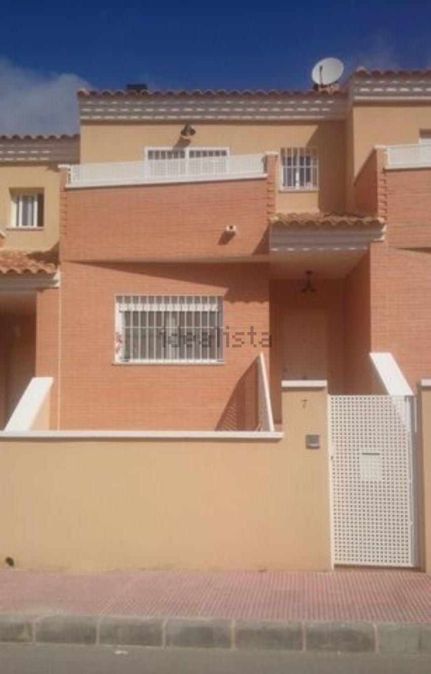 Chalet pareado en calle Séneca, Lorqui