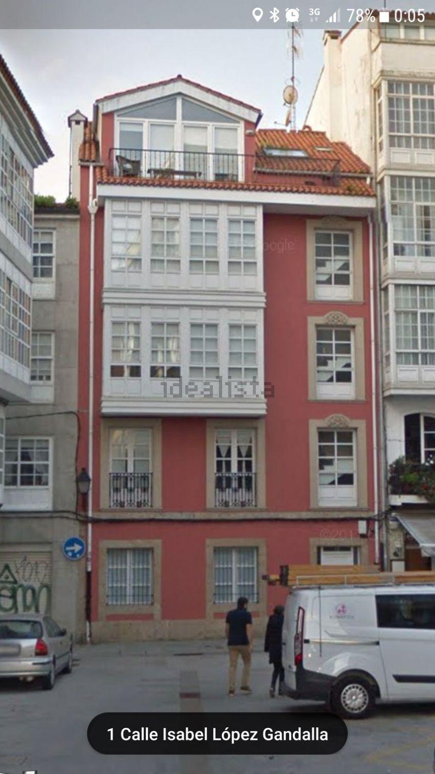 Estudio en calle San Francisco, 12, Ciudad Vieja - Centro, A Coruña