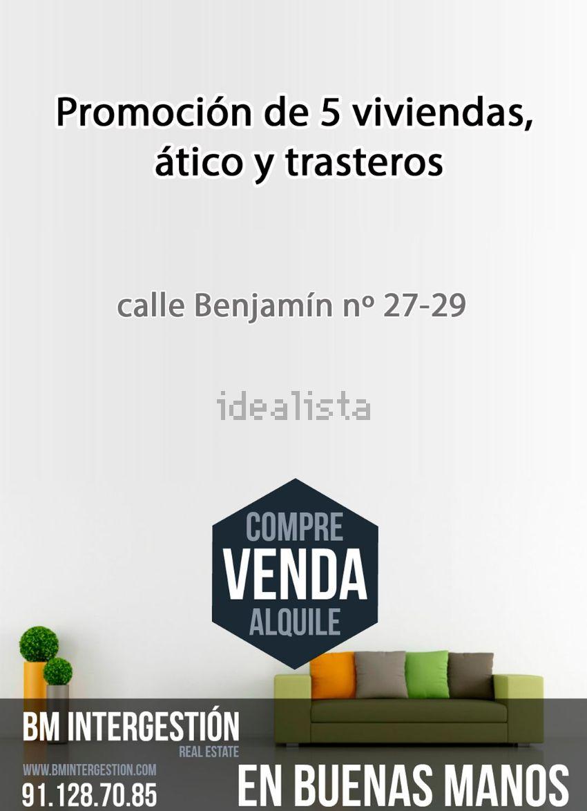Estudio en calle Benjamín, 27, Valdeacederas, Madrid