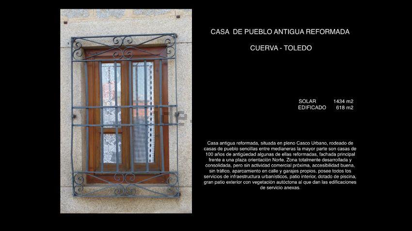 Casa de pueblo en calle Doña Eustaquia Dorado, Cuerva