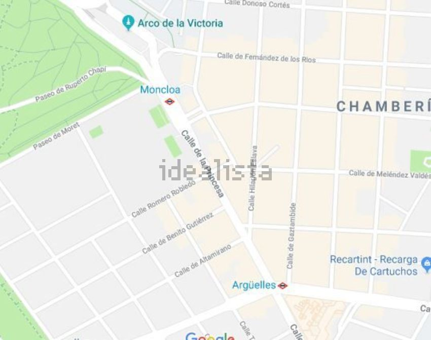 Piso en calle DE LA PRINCESA, Gaztambide, Madrid