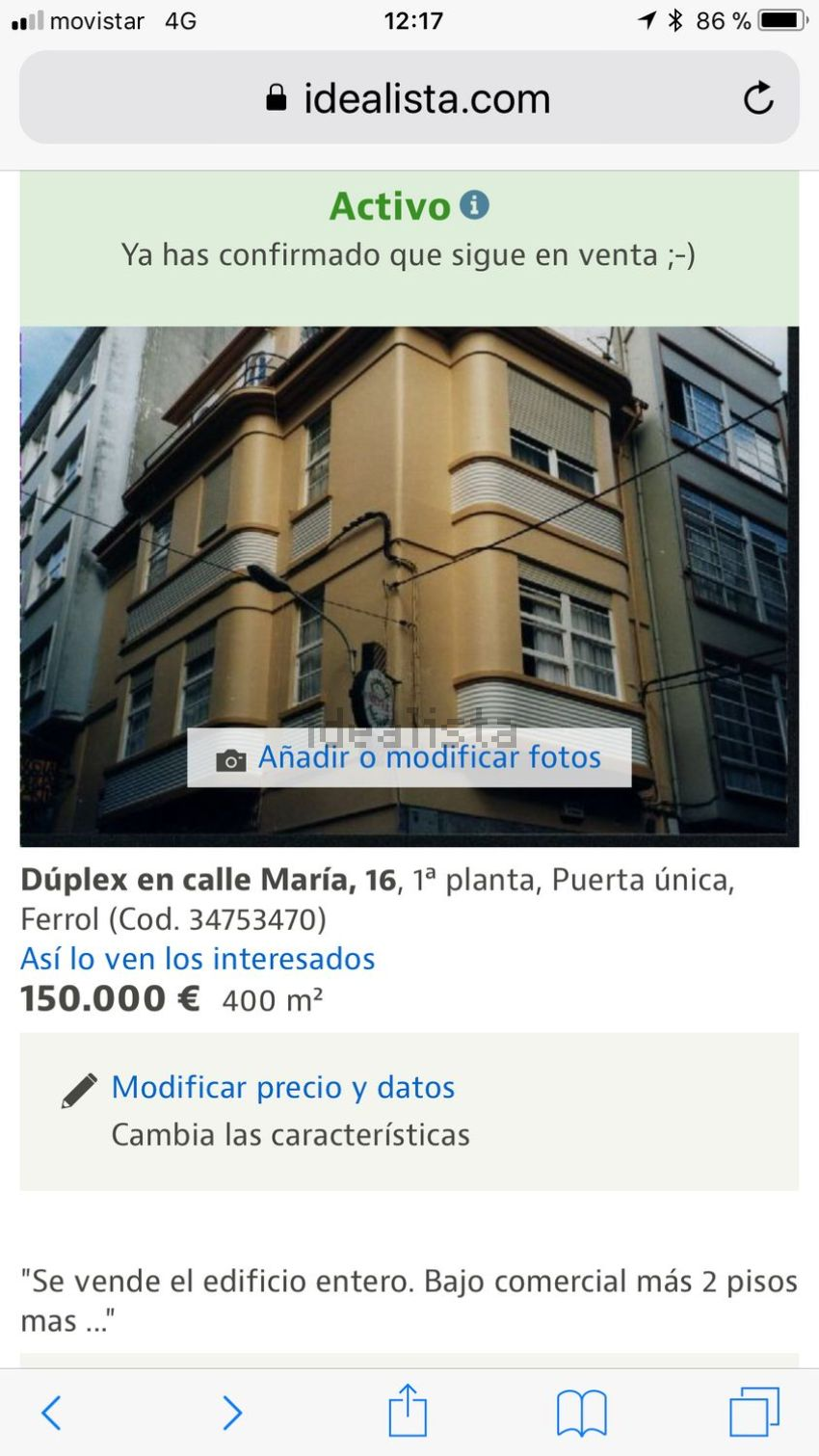 Casa o chalet independiente en calle María, 16, Centro, Ferrol
