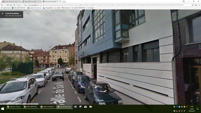Piso en calle de San Nicolás, 5, El Llano Alto, Gijón