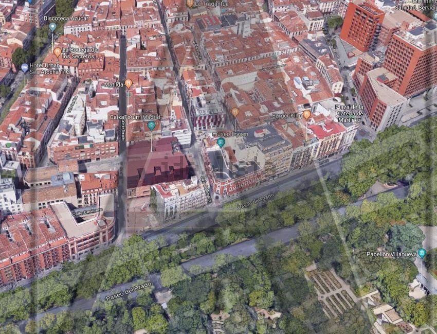 Piso en calle de Almadén, Huertas-Cortes, Madrid