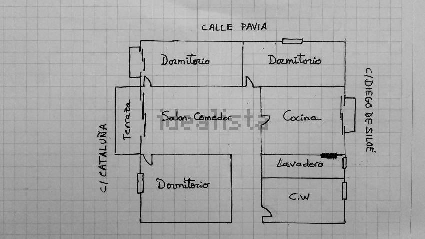 Piso en calle Cataluña, 26, Zaidín, Granada