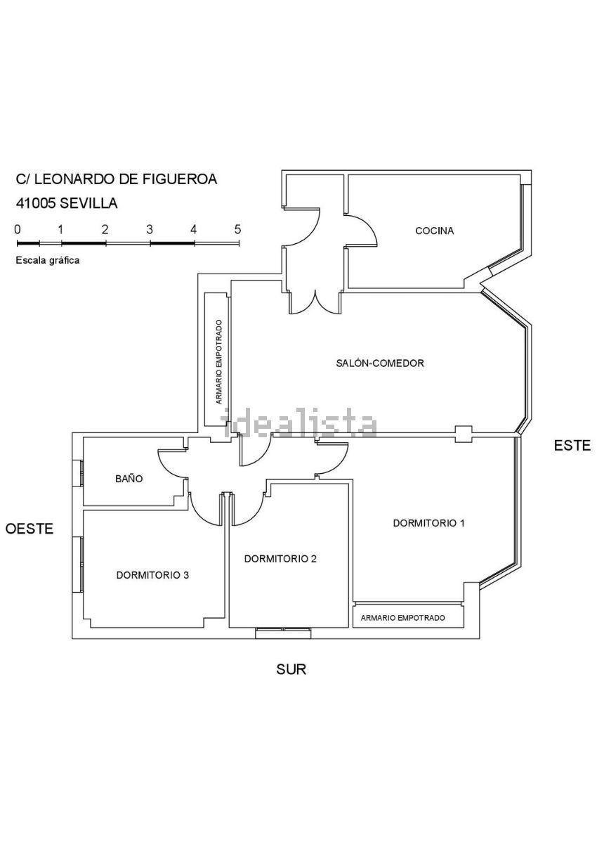 Piso en calle leonardo de figueroa, 3, Gran Plaza-Marqués de Pickman-Ramon y Caj
