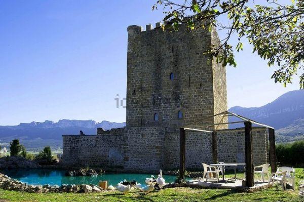 castillo en venta al norte de burgos