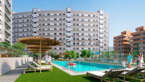 Obra nueva Residencial Vía Parque, -