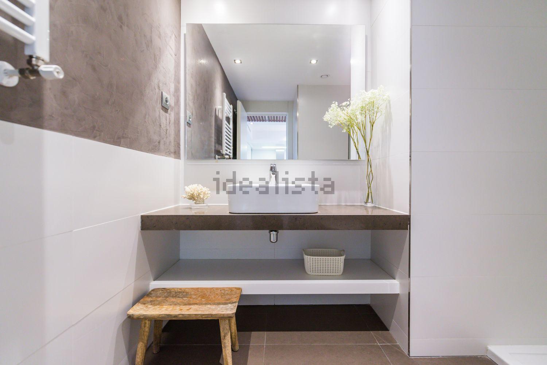 图片浴室地板在PlazadeEspaña,马德里,Argüelles,马德里
