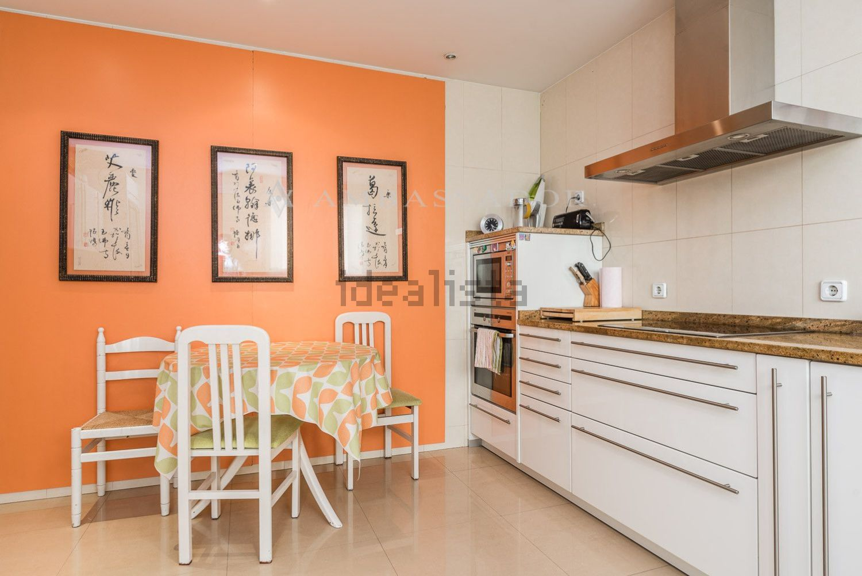 图片厨房的平面在Chamartín,马德里