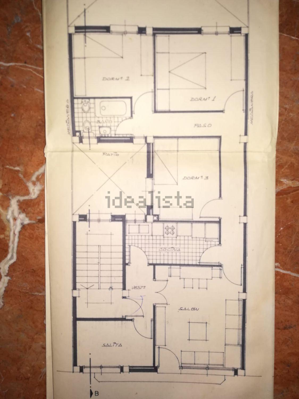Imagen Plano de piso en Lisboa, Cerro del Águila, Sevilla