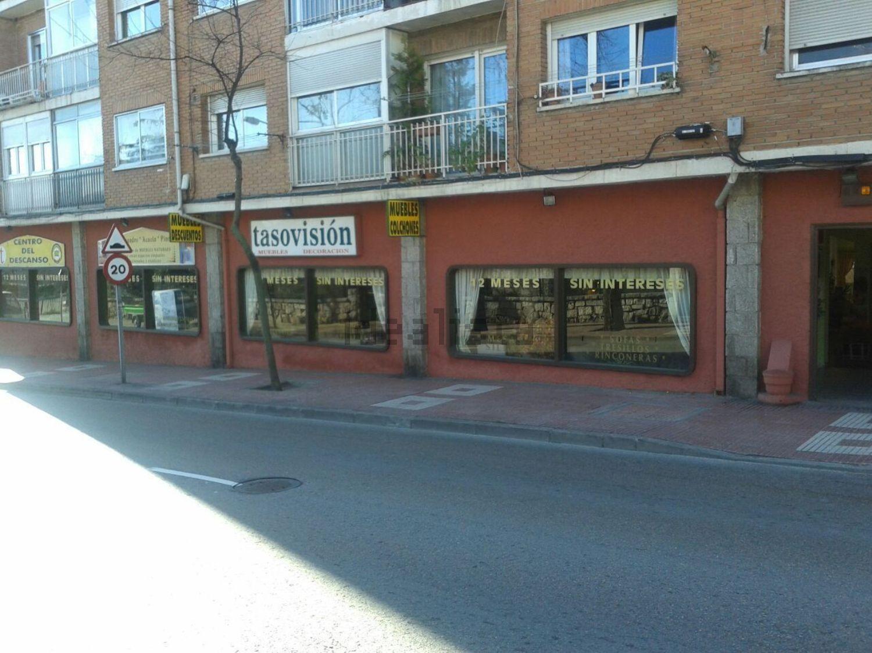 Alquiler De Local En Avenida De La Libertad 60 Centro Colmenar  # Muebles Tasovision
