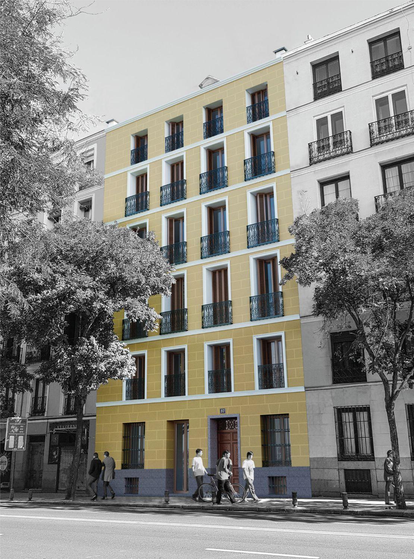 Imagen Fachada de promoción en calle Bailén, 37, Palacio, Madrid