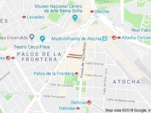 4 properties for sale penthouses Metro Embajadores Madrid Spain